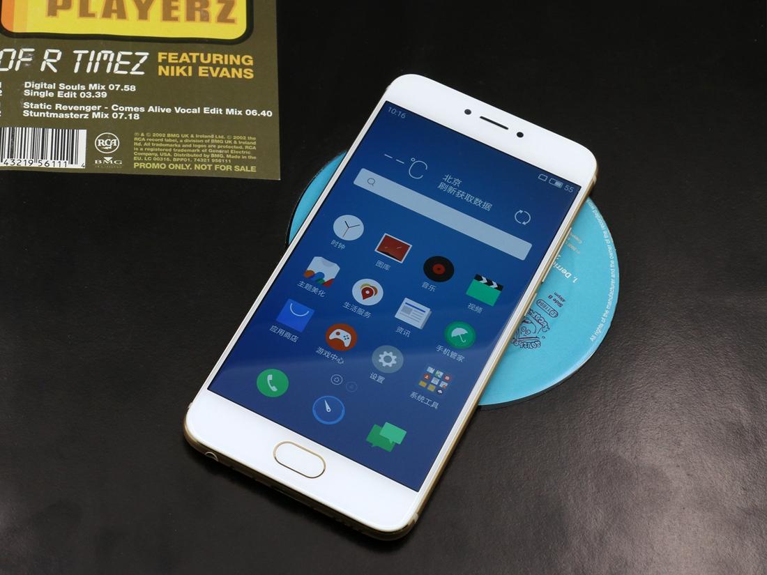 正式发布全新旗舰手机--魅族PRO 6.该机外观方面延续了PRO 5的图片