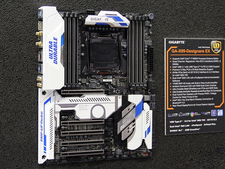 Computex16 技嘉推X99平台VR定制主板