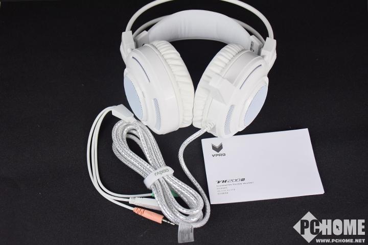 听声辨位 雷柏VH200S炫光游戏耳机评测