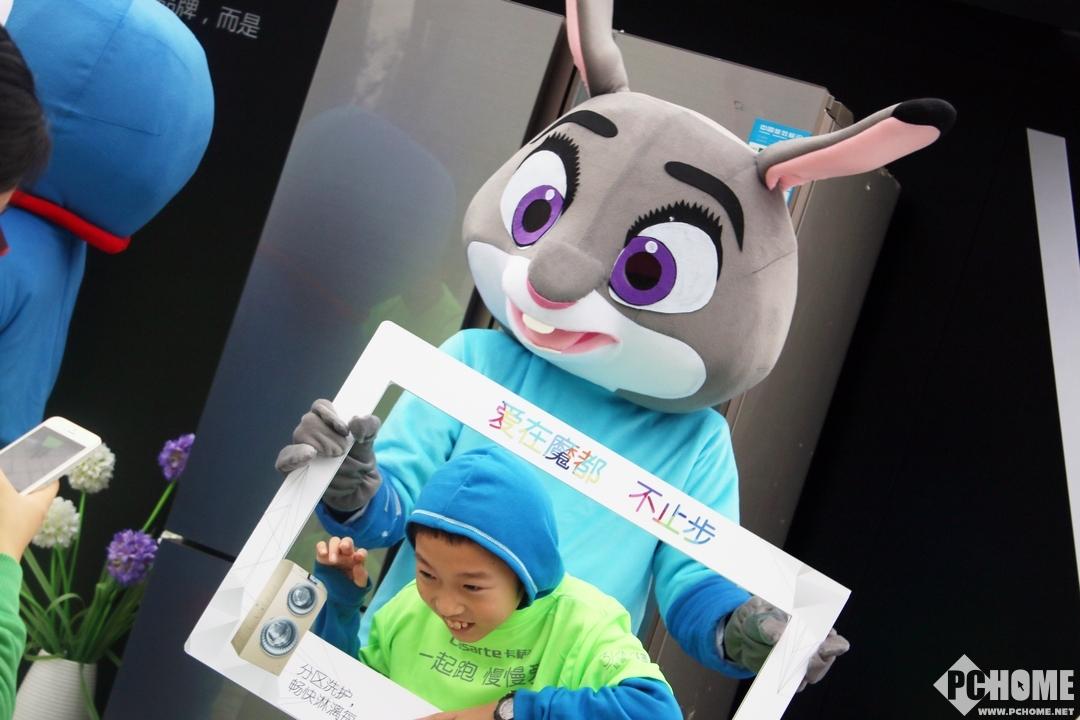 奥运冠军亲临现场 卡萨帝家庭马拉松图赏