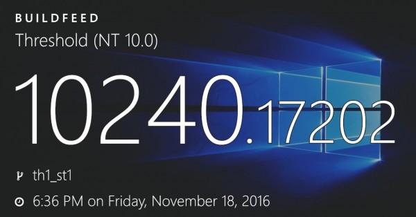 三大Windows 10系统各自获新累积更新