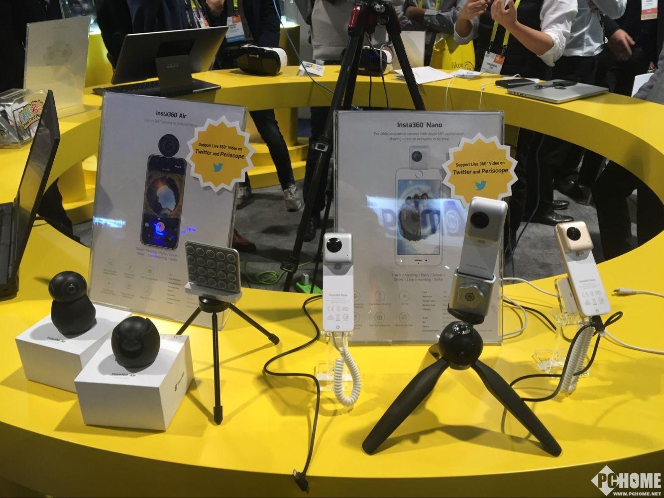 Insta360 CES展台 专业VR逼格满满