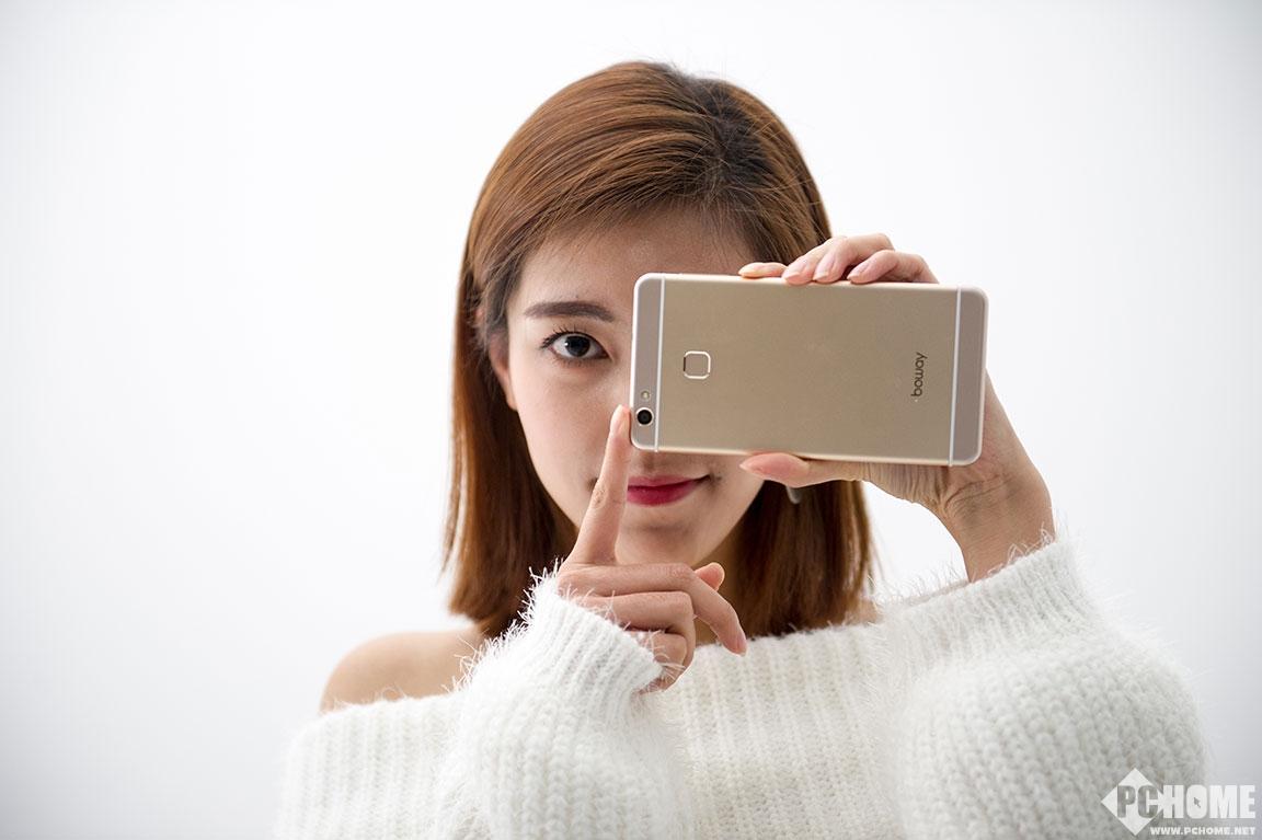 邦华X7手机美女图 精细做工时尚设计
