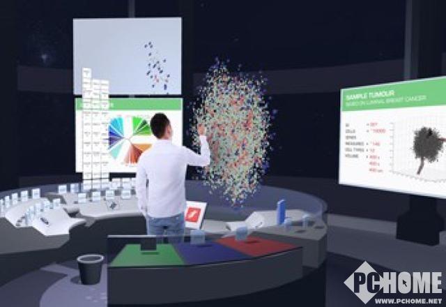 VR技术进入医疗领域 结合3D拿癌症开刀