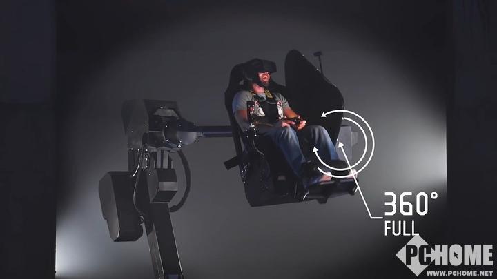 支持360选择的商用版VR座椅 售价超30万