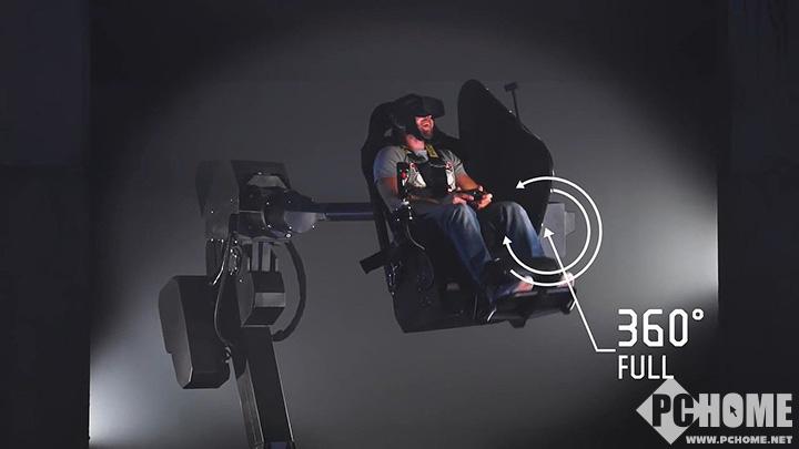 将投入商用 乌克兰厂商推出创新的VR座椅