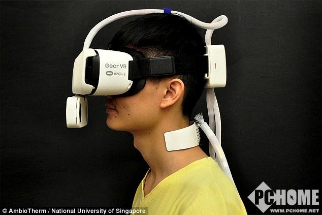 Ambiotherm让用户体验VR世界中的风吹日晒