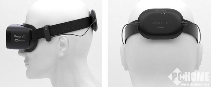 VR外设Kortex 辅助用户提升睡眠质量