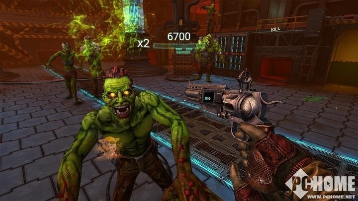 VR僵尸游戏《Drop Dead》登陆Rift