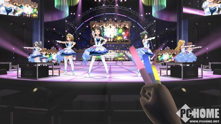 繁中《偶像大师灰姑娘女孩:星光舞台VR》发售日公布