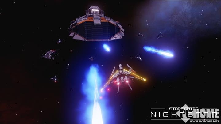 VR游戏《夜星》宇宙中心的空战登陆Steam