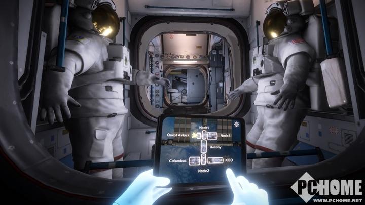 遨游国际空间站的VR游戏《Mission:ISS》