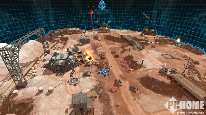 VR战略游戏《空甲联盟:命令》支持Oculus Touch
