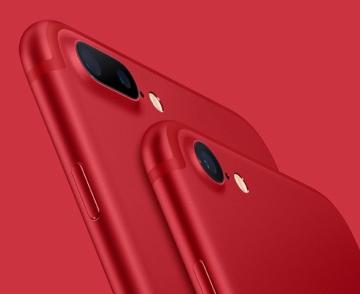 一分钟快报 红色版iPhone 三成