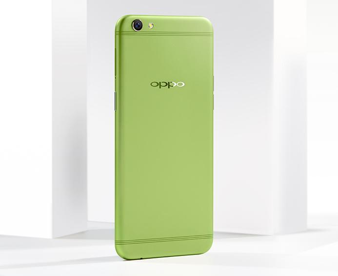 最时尚配色 OPPO R9s清新绿开启预约