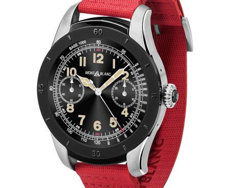 奢侈品品牌万宝龙智能手表SUMMIT