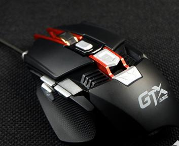 """外设界的""""变形金刚"""" 黑爵GTX专业电竞鼠标深度评测"""