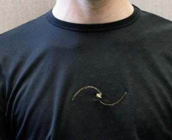 这件高科技的T恤可以监测呼吸系统疾病