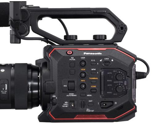 松下5.7K摄像机AU-EVA1发布 支持双原生ISO