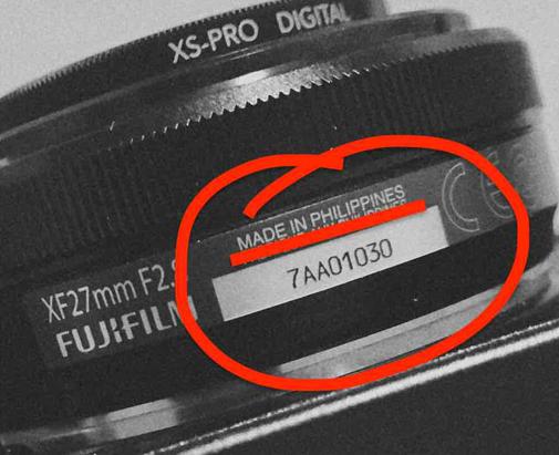 """""""移民""""菲律宾 富士X镜头将转移生产"""