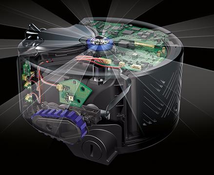 「酷品三分钟」家居清扫新风尚 戴森360Eye智能吸尘机器人
