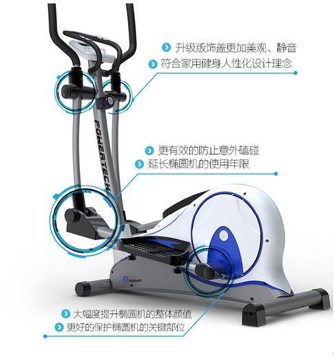 大家加油一起健身 :椭圆机太多人根本不能掌握正确的运动姿势.