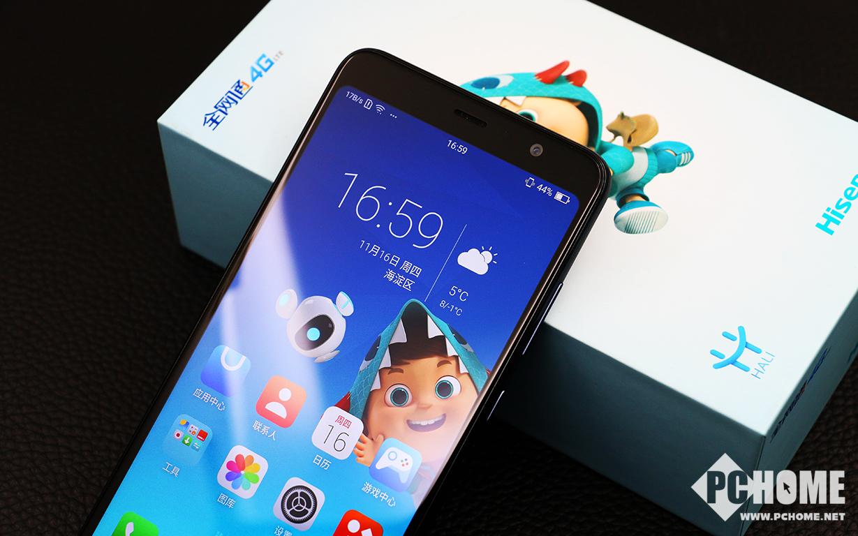 千元也有全面屏 海信哈利手机评测