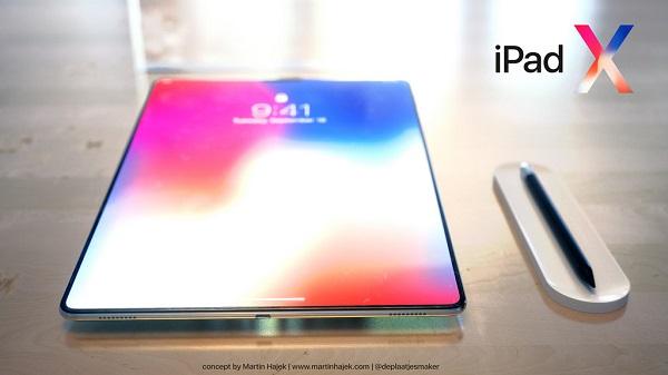 传2018款iPad有望配备iPhone X上的Face ID