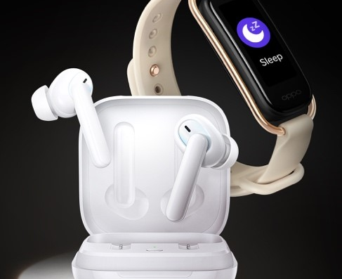OPPO IoT新成员:降噪耳机、智能手环即将发布