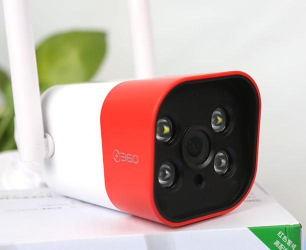 360智能摄像机红色警戒高配版体验:室内室外都省心