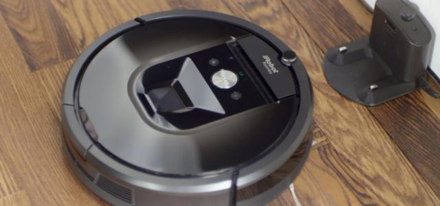 「酷品三分钟」满身黑科技 iRobot 980智能扫地机器人视频评测