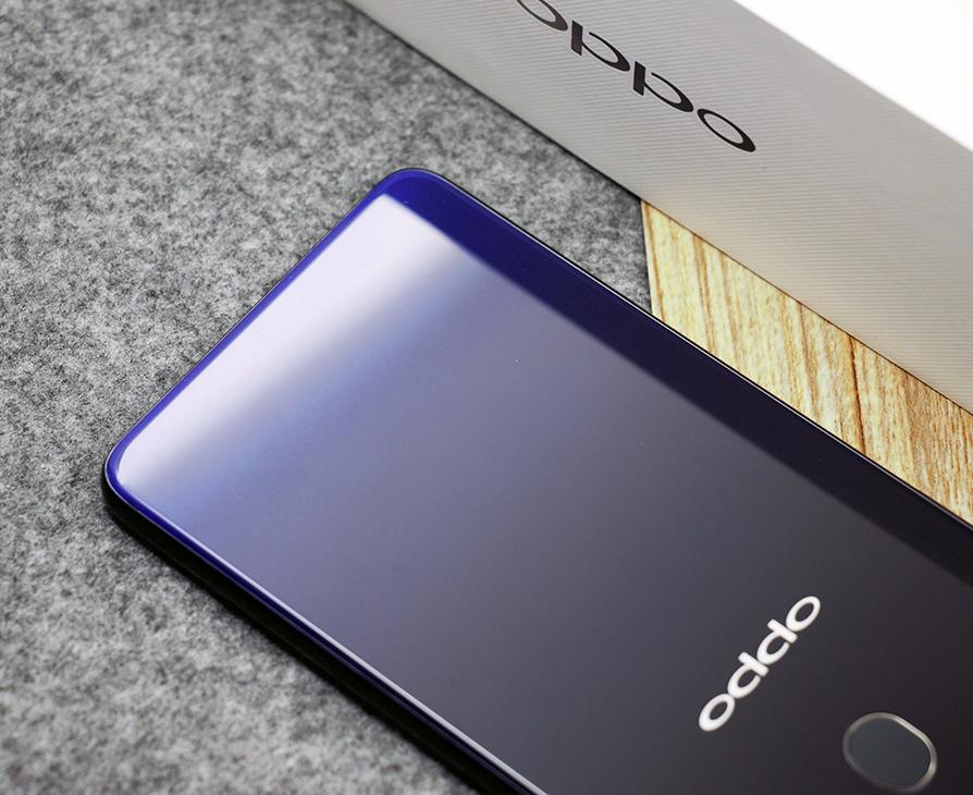 黑紫渐变机身美如画 OPPO R15星空紫图赏