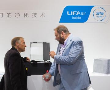 LIFAair亮相上海国际空气新风展 30年核心技术创新 让净化不止于净