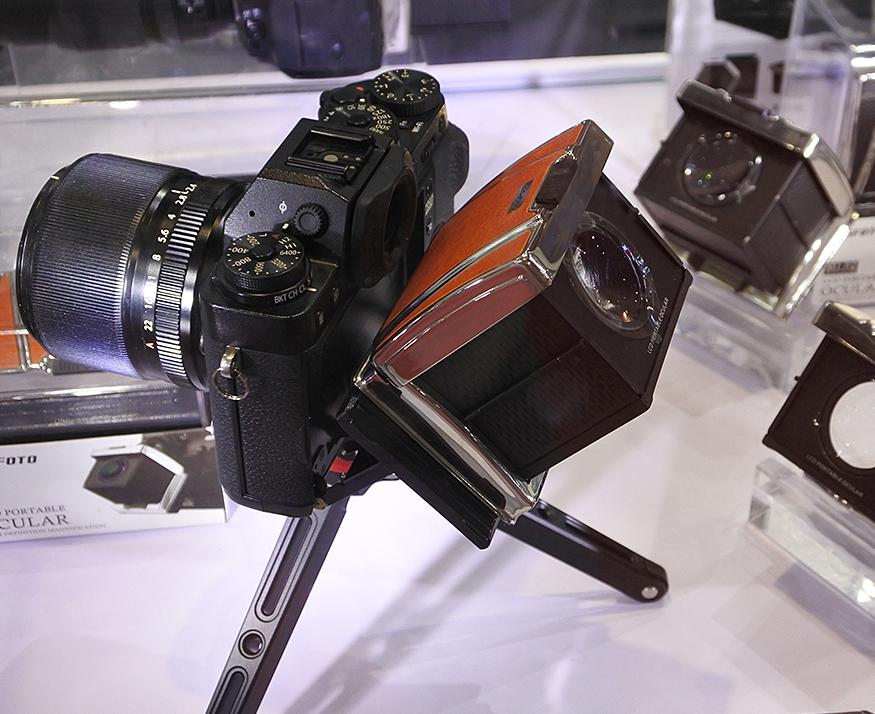 「P&I2018」相机包里新装备 口袋目镜