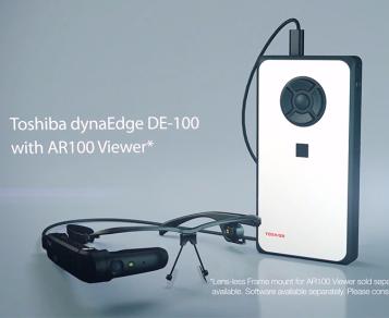 东芝推出了AR智能眼镜排序系统