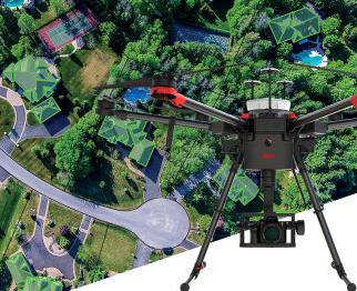 徕卡测绘无人机系统搭载索尼微单上天