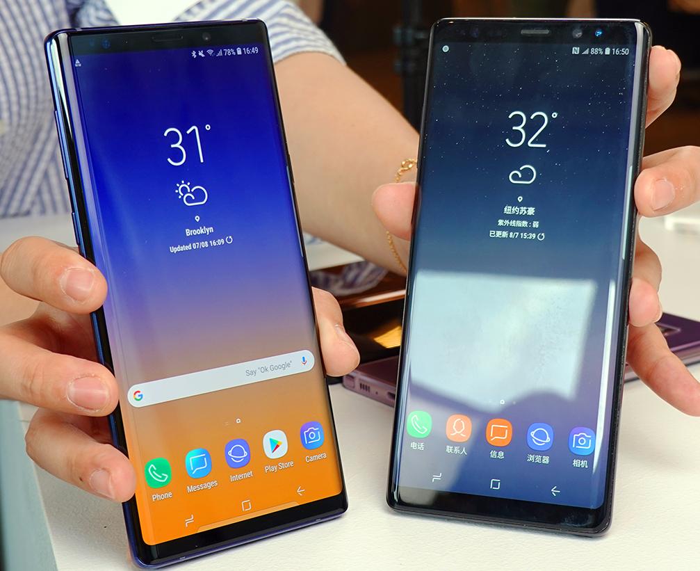 非凡设计 三星Galaxy Note9现场图集