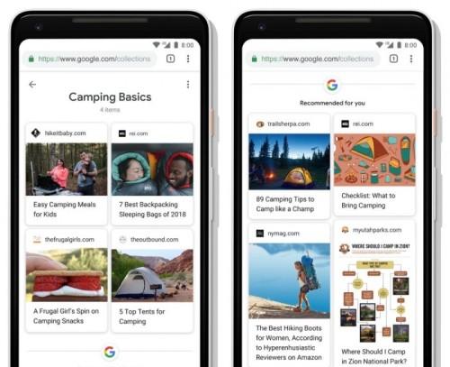 谷歌搜索上线Activity Cards 让搜索更智能