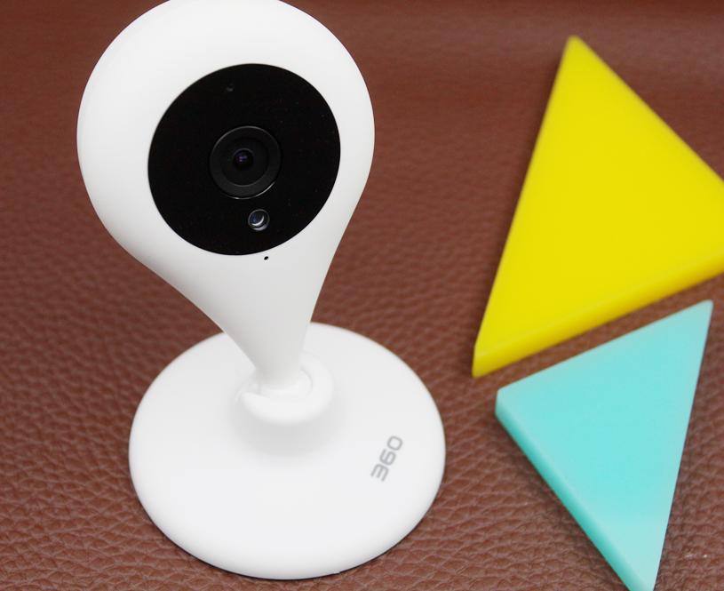 水滴造型 安全守护 360智能摄像机夜视版图赏