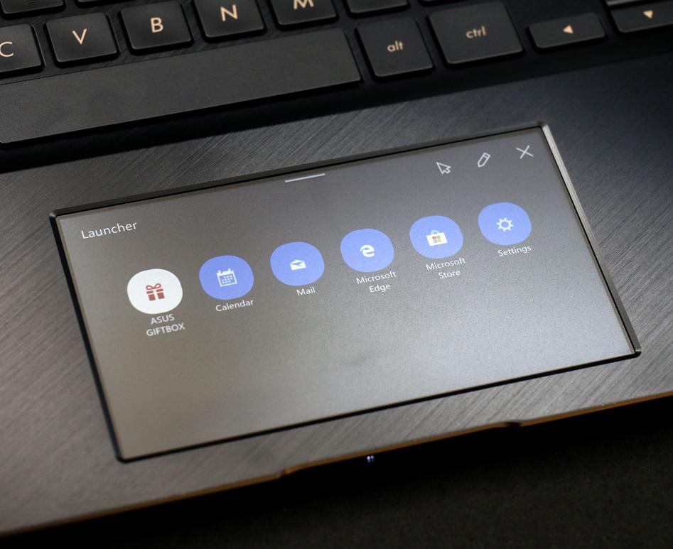 创新ScreenPad触摸板 华硕灵耀X Pro 15图赏