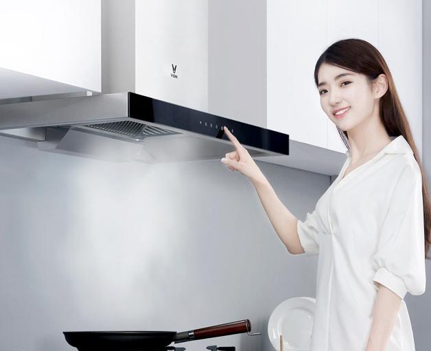 云米智能互联烟灶套装上架 烹饪也要智能化