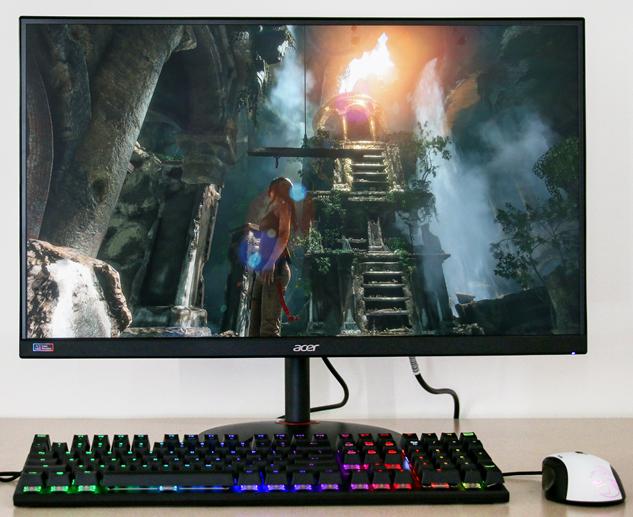 实力电竞 Acer暗影骑士XV272U P显示器评测