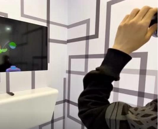 OPPO一体式AR眼镜现场体验 设计前卫算法先进