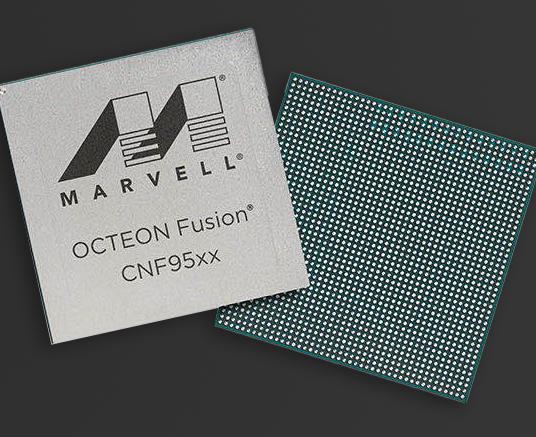 Marvell发布下一代OCTEON Fusion CN95XX处理器